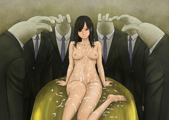 くっさい白濁液をぶっかけまくられちゃってる美少女達のエロ画像とかwww