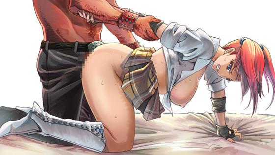 【レイプ画像www】ヒロイン達が無理やりセックスされちゃってるエロ画像
