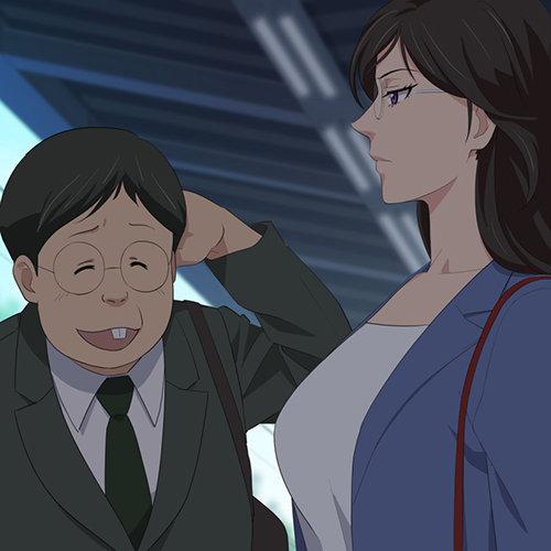 【ゲゲゲの鬼太郎】キモい男のデカチンポで男性不信をアヘ顔解消www(GIF動画)
