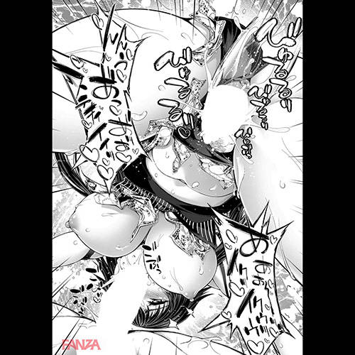 【エロ漫画】 一つの体に二つの人格!! 中年オヤジ達と乱交するビッチ人格と清純な人格が共存した結果www