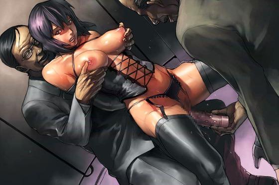 【エロ画像】美しいヒロイン達がキモい男達に屈辱セックスされちゃってるwww