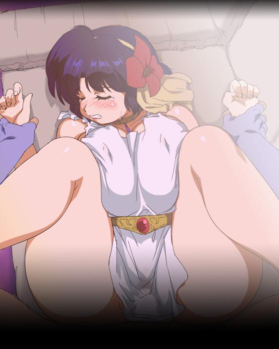 力強いセックスに敗北して寝取られちゃってる二次エロ画像www