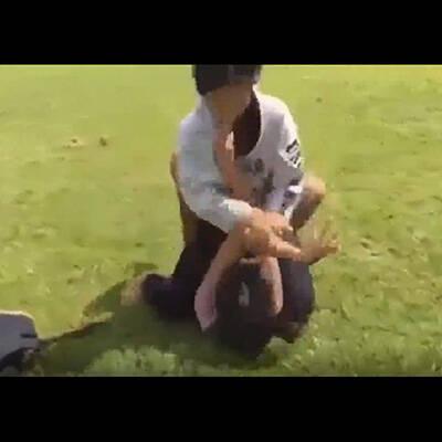 【エロ漫画】 乳首が弱点の女格闘家がエロ柔術に敗北!! 道場破りで師範に敗北してザコ達にまでレイプされてしまうwww
