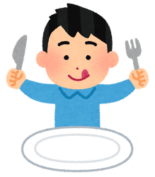 syokuji_blank_man