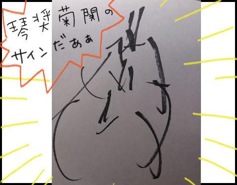 琴奨菊サイン