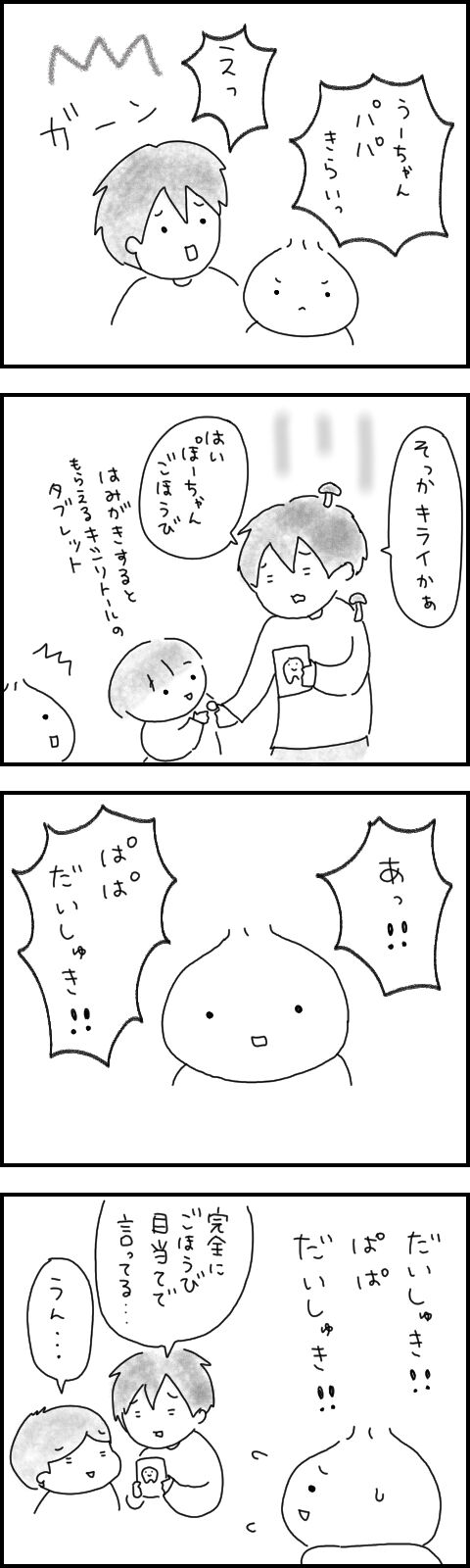 ぱぱへのおもい