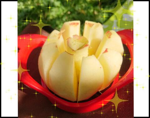 リンゴカッター成功例