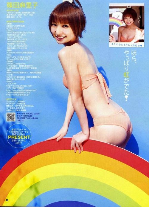 篠田麻里子グラビア画像006