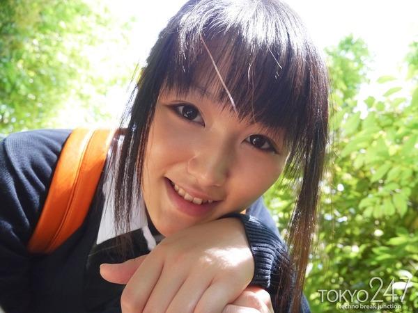 高校生コスプレ少女3公園デート画像 (5)