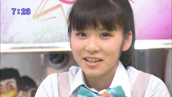松岡茉優5おはスタ (9)
