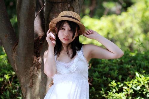 春日彩香8帽子ワンピース画像 (3)