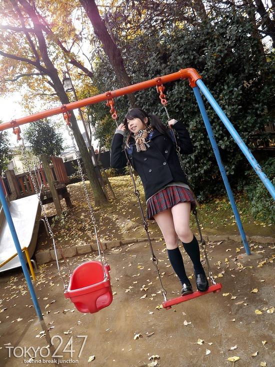 敏感少女3雑司が谷散歩画像 (7)