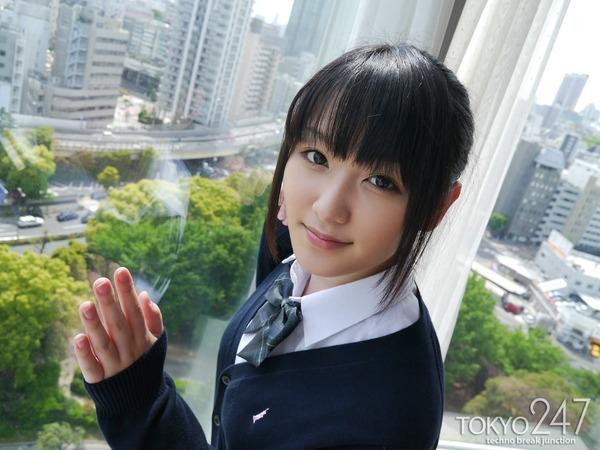 高校生コスプレ少女3公園デート画像 (2)