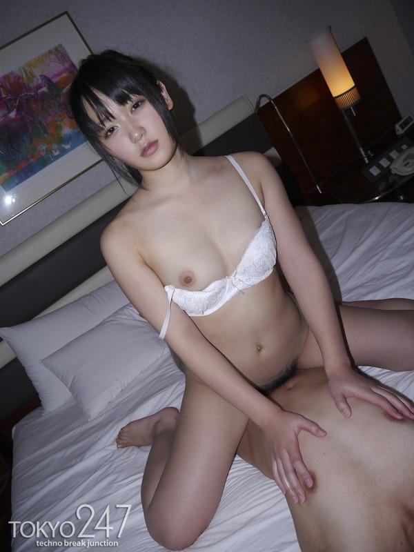 萌え系高校生4騎乗位SEX画像 (1)