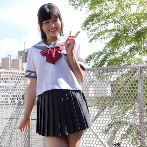 柚本ひまり 制服 (5)