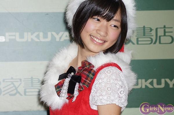 相楽樹8クリスマスサンタコスプレ画像 (1)