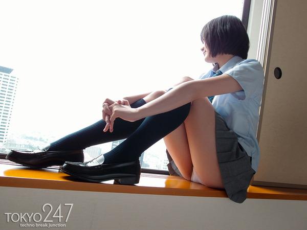 ショートカットモリマン少女8ホテル内の画像 (5)