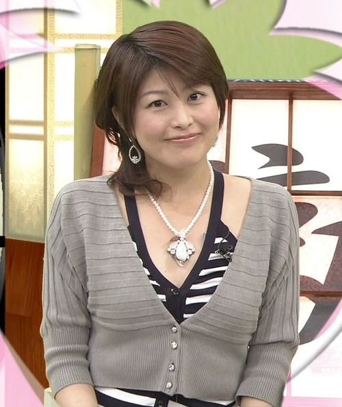 森麻季6おっぱい検証着衣画像 (1)