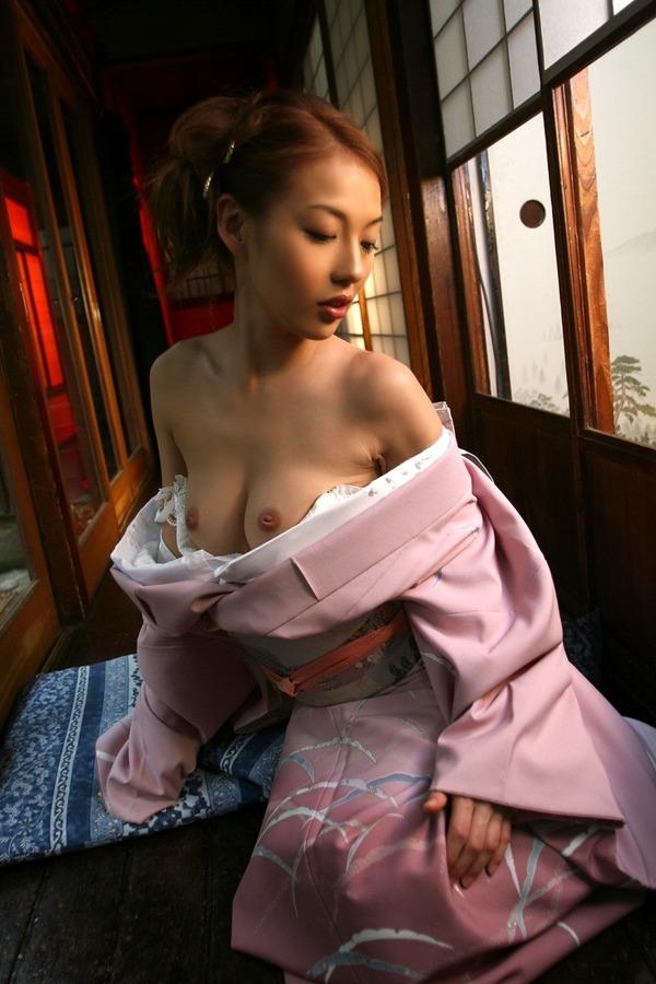 和服美女のエロ画像 (5)