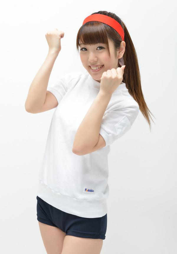 白石みずほ9ブルマ体操着画像 (7)