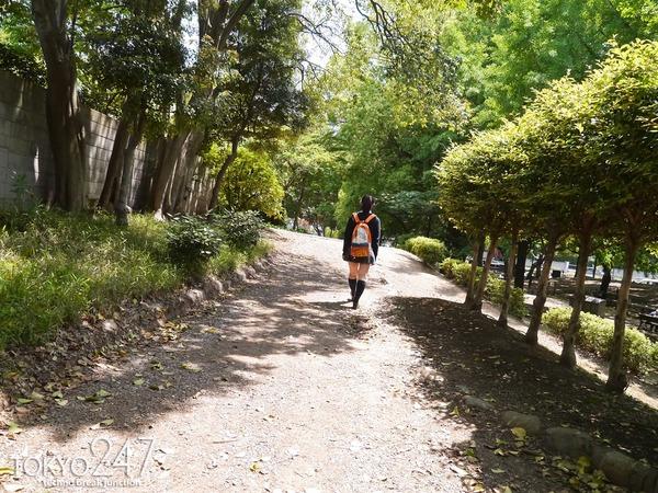 高校生コスプレ少女3公園デート画像 (3)