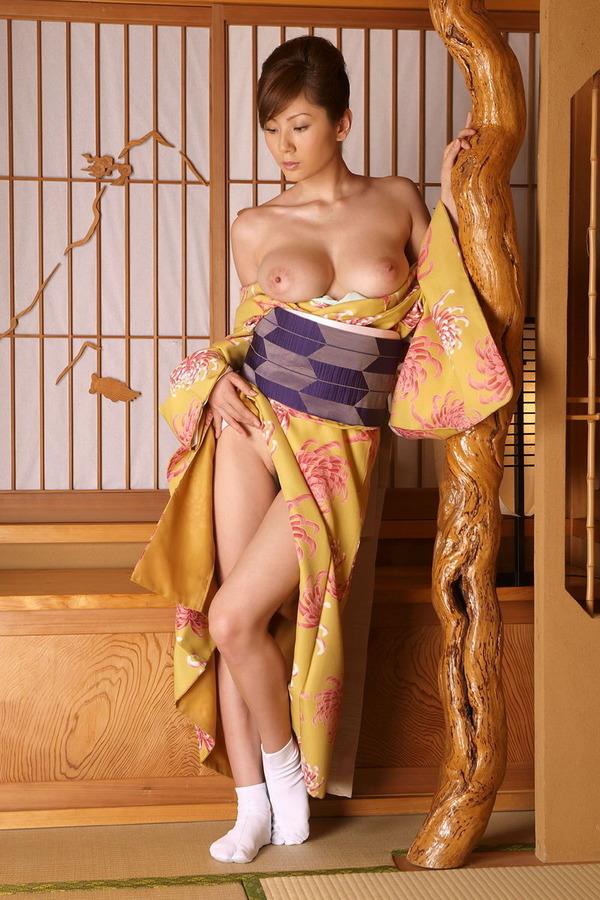 和服美女のエロ画像 (6)