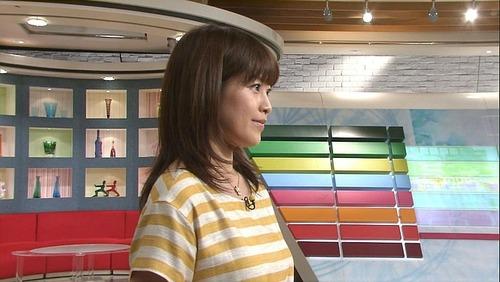森麻季6おっぱい検証着衣画像 (4)