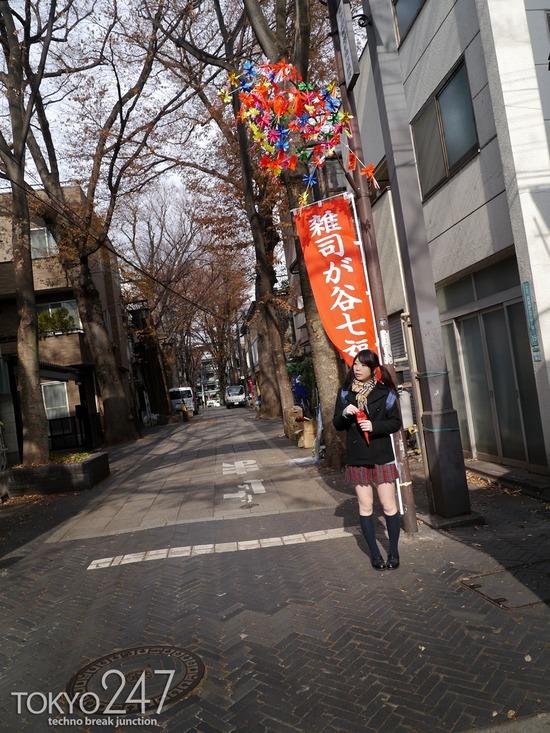 敏感少女3雑司が谷散歩画像 (3)