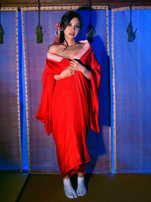 和服美女のエロ画像 (10)