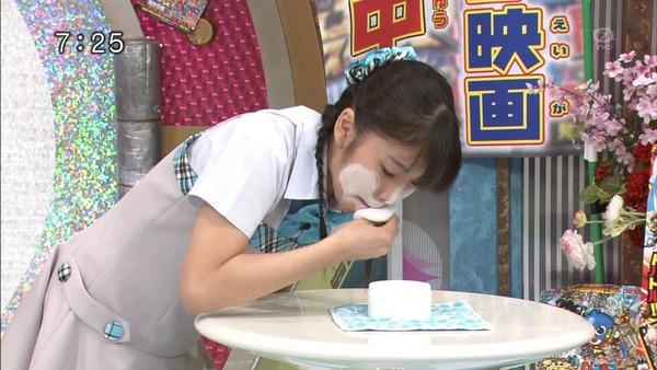 松岡茉優5おはスタ (6)