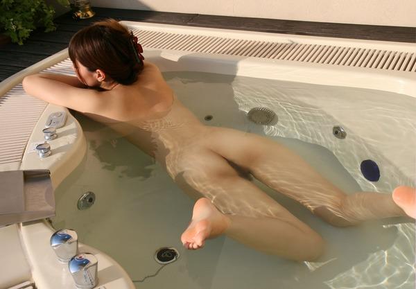 出会い系でやらせる女2浴室SEX画像 (5)