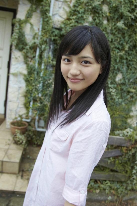 川口春奈6ロング黒髪画像 (5)
