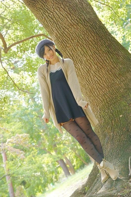 小蜜こと副島美咲8ベレー帽制服画像 (3)