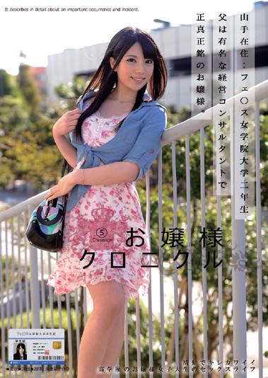 お嬢様クロニクル上原亜衣パケ写 (1)