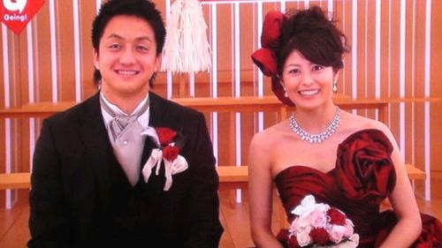 森麻季7沢村拓一投手結婚時画像 (1)