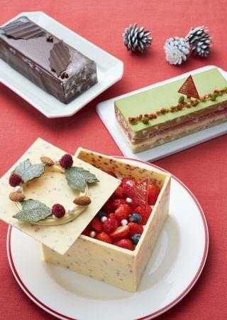 クリスマスケーキ集合イメージ1