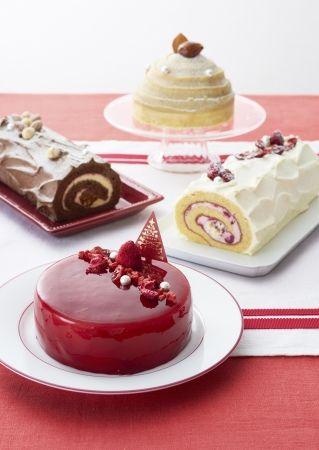 クリスマスケーキ集合イメージ2