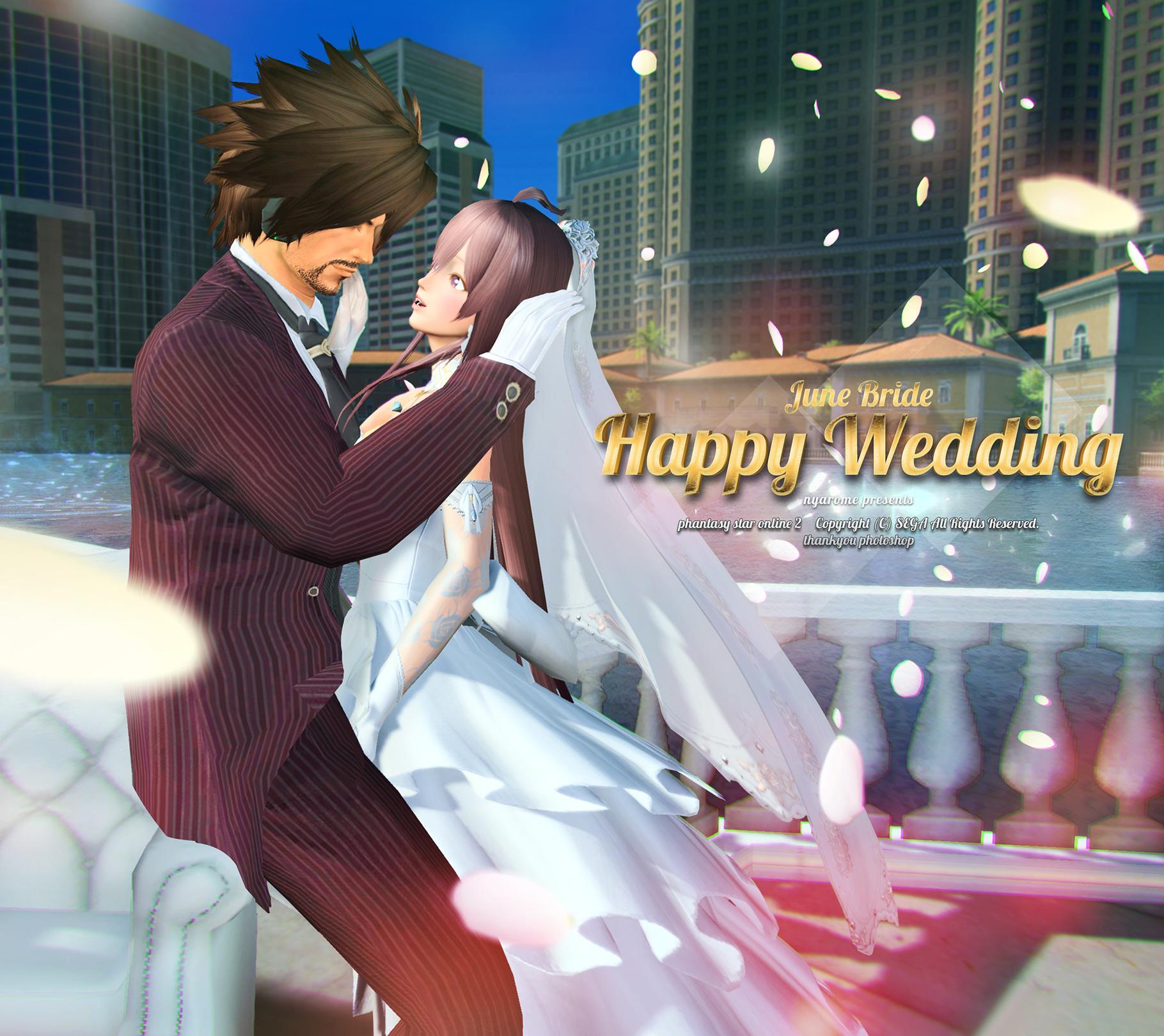 おちゃニャー結婚式