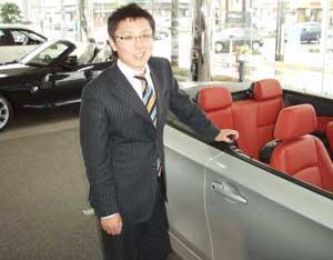 BMW 日本一セールスタッフ 河田哲也氏