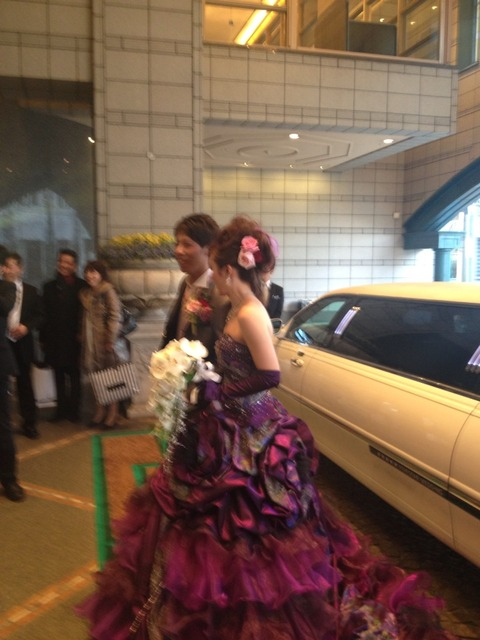 教え子の結婚式