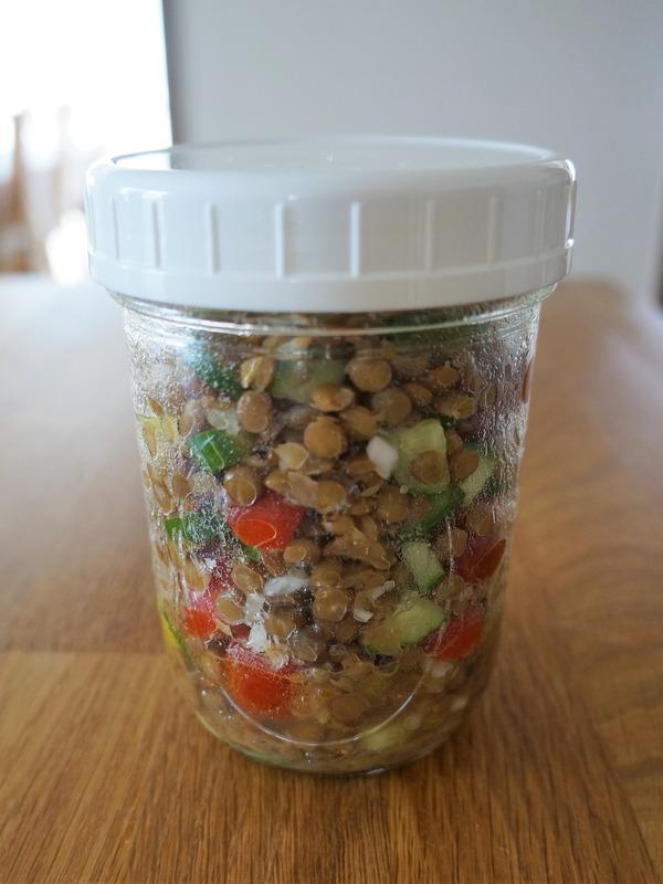 レンズ豆のサラダ NYCooking DSC01894