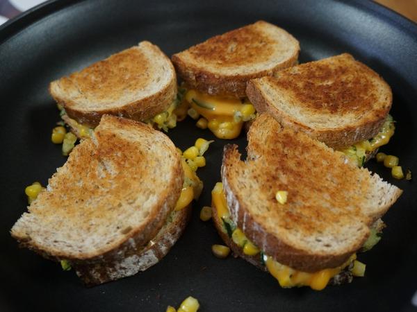 グリルドチーズサンドイッチ NYCooking DSC07999
