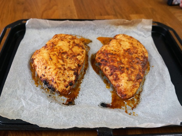 鶏むね肉のオーブン焼き NYCooking DSC05743 (2)