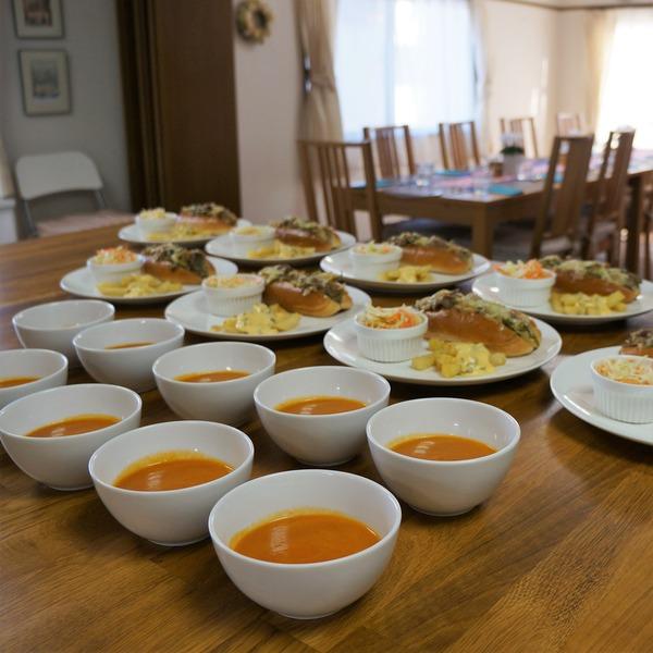 トマト&キャロットスープ NYCooking DSC05944(3)