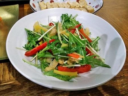 水菜サラダ-450