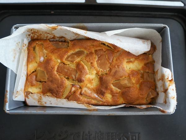リンゴのケーキ NYCooking DSC05019
