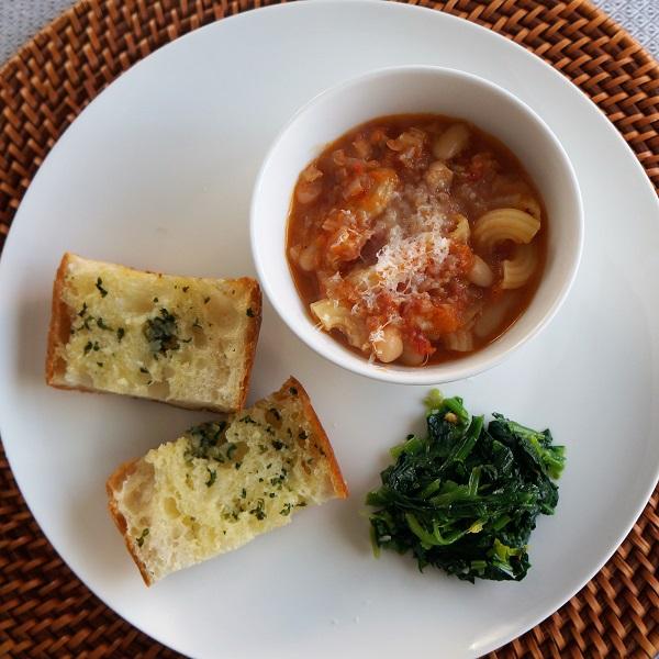 豆のスープNYCooking DSC01762(3)-600