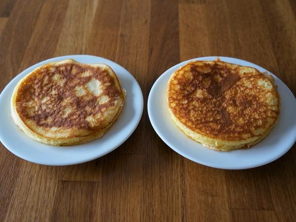 ひとり分のパンケーキ NYCooking DSC01466