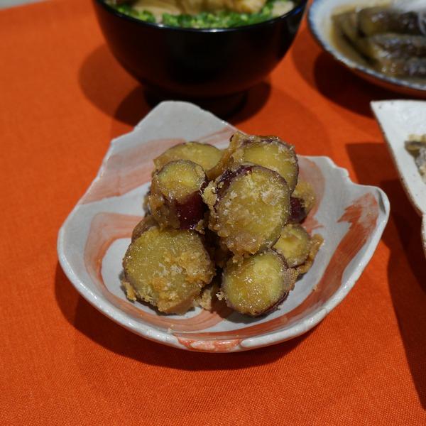 サツマイモのあめ炊き DSC03925