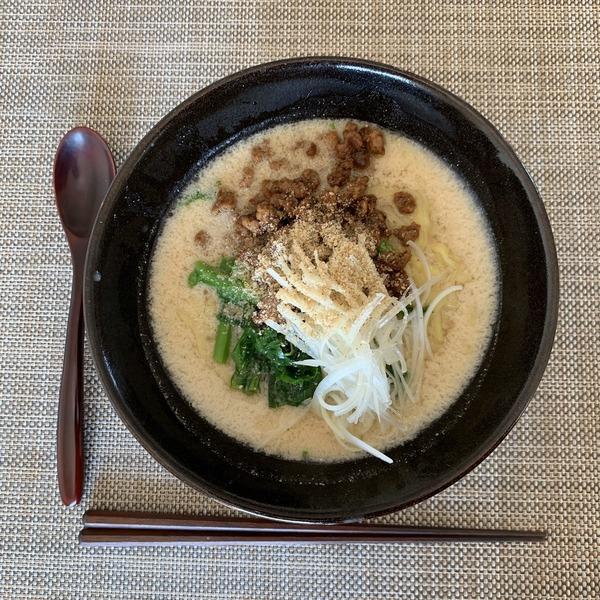 2020 03 担々麺 NYCookingつくれぽ